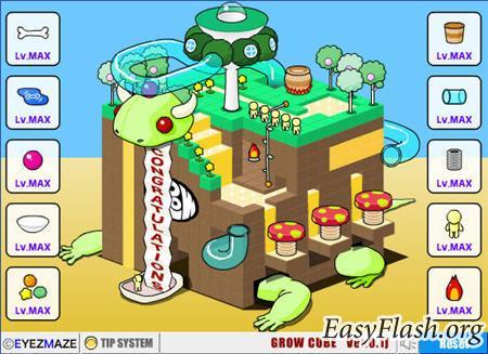 Grow Cube, Grow Island, Grow RPG - растущие миры!