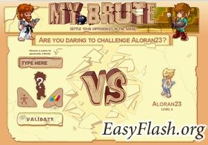 MyBrute - замечательная on-line flash игра!
