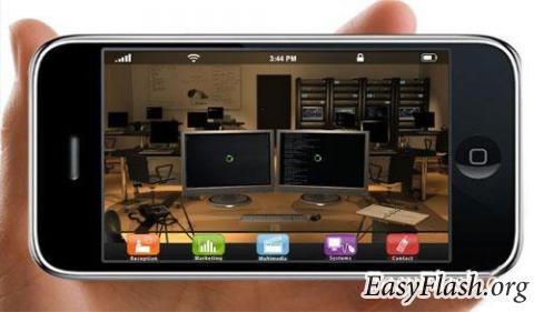 Динамичный flash сайт c 3D элементами и спецэффектами.