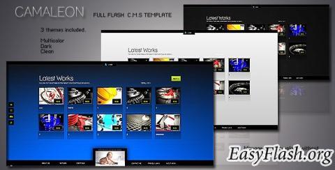 Camaleon - Full flash C.M.S Template