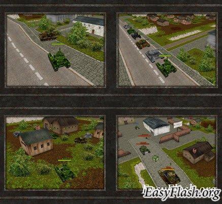 Tanki Online - полноценая 3D Flash аркада!