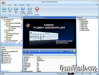 Magic Flash Decompiler v5.2.1.2