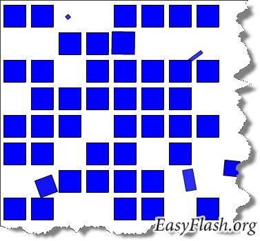 Обучение к программе: Selteco Alligator Flash Designer. Урок 4: Мультипликация квадратов