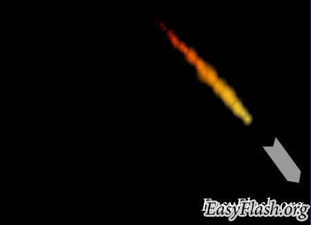 Реалистичная ракета в космосе